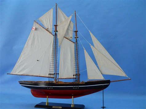 buy wooden bluenose  model sailboat decoration