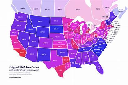 Area Codes Code Map Before Oddities Lovelace