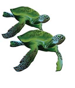 Green Sea Turtle Logo