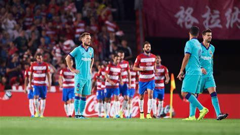 Granada vs. Barcelona - Resumen de Juego - 21 septiembre ...