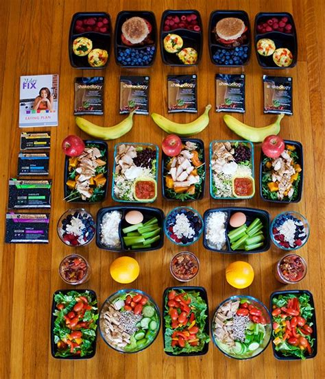 day fix meal prep  calorie level  day