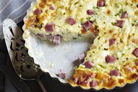 ham and swiss quiche easy ham and swiss cheese quiche recipe