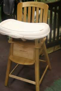 eddie bauer wooden high chair recall high chair