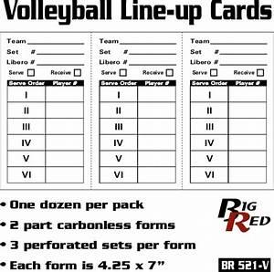 softball lineup template pertaminico With queue cards template