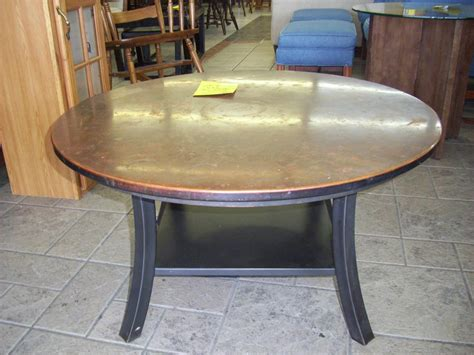 copper table l ikea round hammered copper coffee table coffee table design