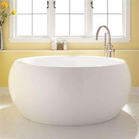 soaking tub 61 quot arturi round acrylic soaking tub ebay