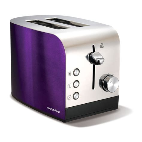 Morphy Richards 44207 Accents 2 Slice Polished Toaster