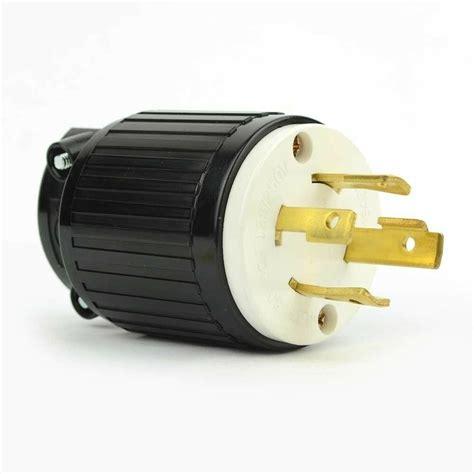 Amp Generator Twist Lock Plug Male Nema Wire