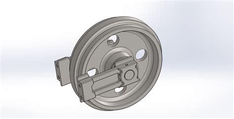 ihi nx idler wheel mini excavator centre digger parts