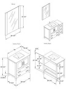 what are standard bathroom vanity top sizes