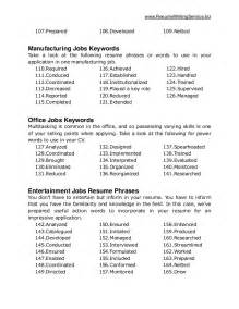 production resume keywords ultimate list of 500 resume keywords