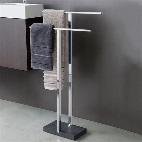 Design Bathroom Online - blomus handtuchhalter menoto edelstahl poliert polystone