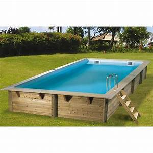 Piscine Hors Sol Bois Rectangulaire So Piscine