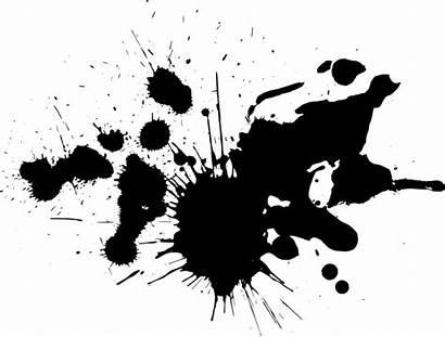 Splatter Paint Ink Splash Transparent Brush Clipart