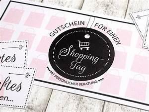 Shopping Gutschein Selber Machen : die weihnachtsbloggerei geschenkidee f r shopping queens weihnachtsbloggerei 8 ~ Eleganceandgraceweddings.com Haus und Dekorationen