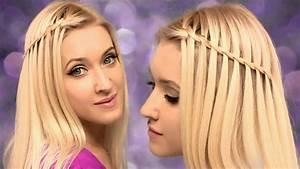 Tresse Cheveux Courts : tresse cascade facile faire soi m me tuto coiffure youtube ~ Melissatoandfro.com Idées de Décoration