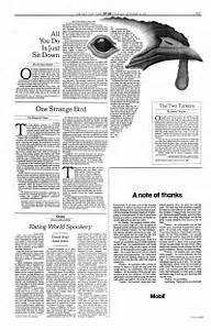 New York Times Op-Ed Pages on Behance
