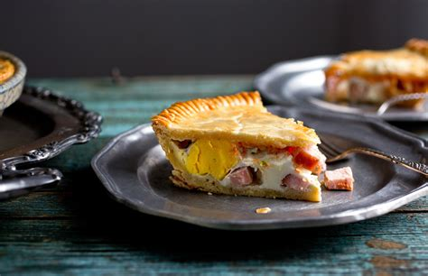 spicy bacon  egg pie recipe nyt cooking