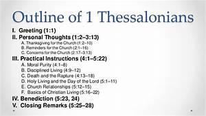Bible Study Of 1 Thessalonians   Week 1