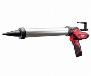 Pistolet Pour Tube Silicone : milwaukee m12pcg 600a 201b pistolet colle outillage ~ Edinachiropracticcenter.com Idées de Décoration
