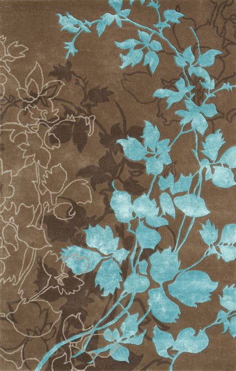 and turquoise rug dahlia brown turquoise area rug wool colors and