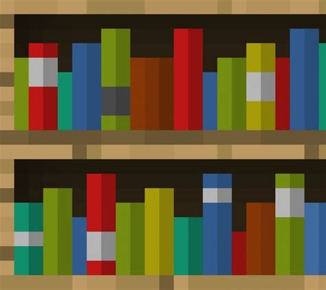 minecraft bookcase recipe huge bookshelf minecraft