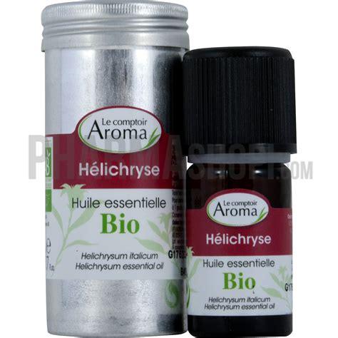 comptoir des flacons huile essentielle d h 233 lichryse le comptoir aroma flacon
