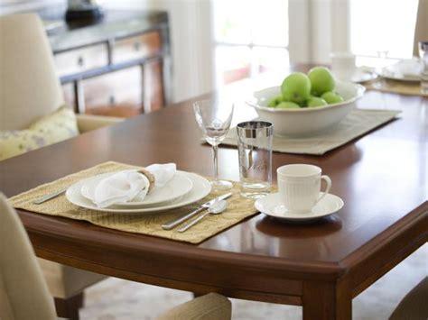 refinish  dining room table hgtv