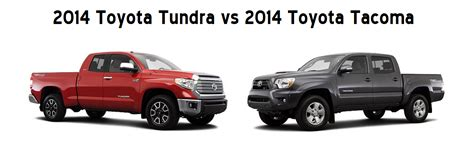 toyota tundra  toyota tacoma whats  difference