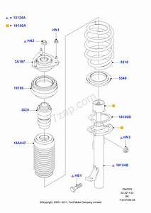 Front Suspension Struts And Springs Ford Fiesta 01