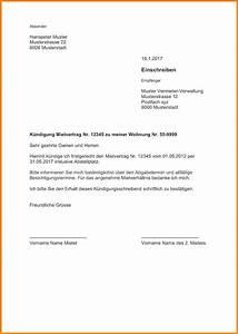 Kündigungsschreiben Wohnung Mieter : 9 vorlage wohnungsk ndigung savoir faire aquitaine ~ Lizthompson.info Haus und Dekorationen