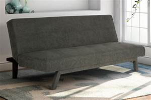 futon sofa bed lounge couch bed upholstered sturdy With sturdy sofa bed