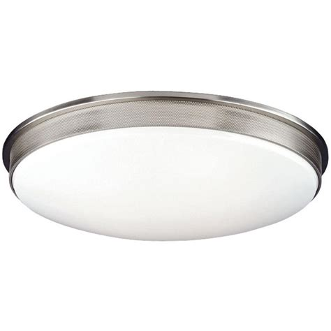 philips perf 2 light satin nickel ceiling fixture f208136u