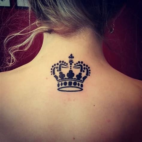 awesome queen crown tattoos