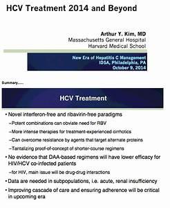 HCV Treatment 2... Hepatitis C Treatment