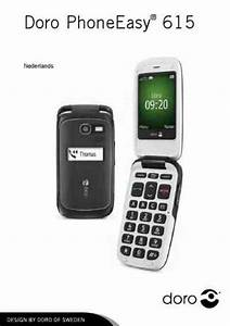 Doro Phoneeasy 615 Mobile Phone Download Manual For Free