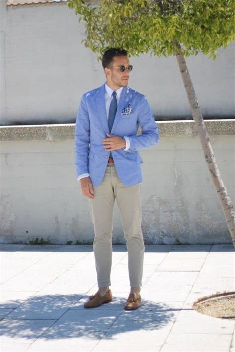 17 Best ideas about Light Blue Blazers on Pinterest   Mens summer blazers Blue blazer men and ...