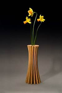Solid Wood Handcrafted Vases & Bookends - Seth Rolland
