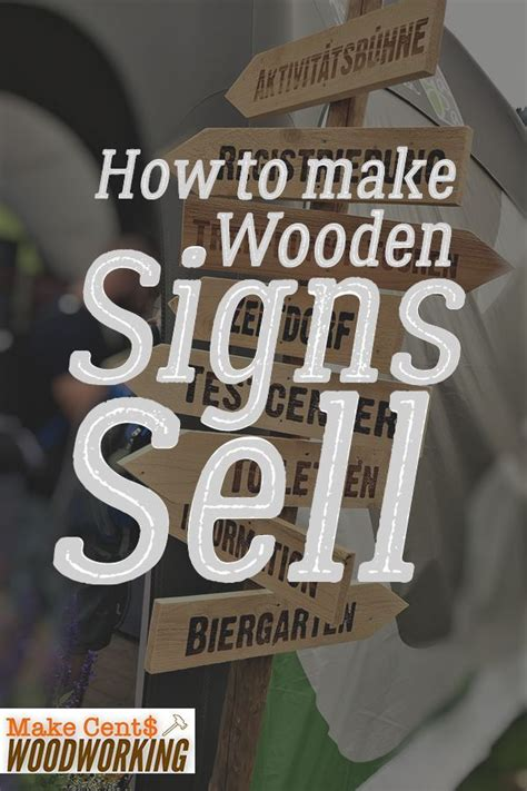 wooden signs  sell woodworking projects