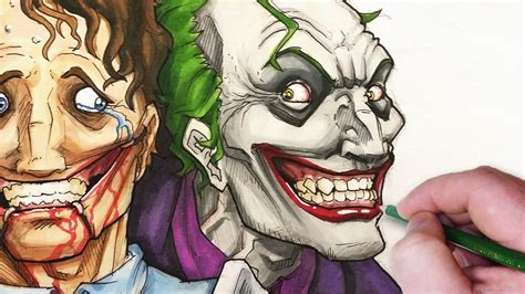 lets draw  joker dont worry  happy youtube