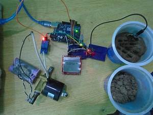 Automatic Irrigation System Project Using Arduino