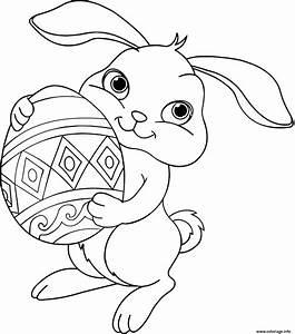 Coloriage De Paque : coloriage lapin paques disney dessin ~ Melissatoandfro.com Idées de Décoration