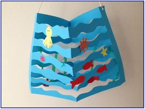 Ocean Art And Crafts For Preschoolers