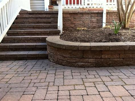 wood retaining wall drainage retaining wall installation northern va french drain