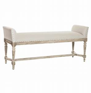 Christo French Country Barnwood Grey Long Bench Kathy