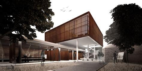 winning proposal  cultural village mixes architectural