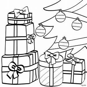 Weihnachtsgeschenke Zum Ausmalen : weihnachtsgeschenke unter dem weihnachtsbaum ornament zum ~ Watch28wear.com Haus und Dekorationen