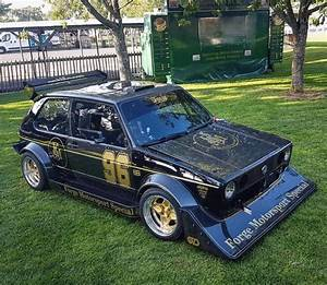 Vw Golf With A Turbo 2 0 L
