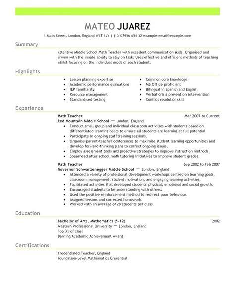 Resume Templates Australia by Free Resume Templates 2018 Australia Australia