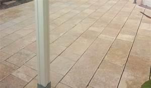Terrassenplatten 2 Cm Stark : terrassenplatte aus naturstein gelb creme mediterran breite ca 25cm x freie l nge x ca 2 3cm ~ Frokenaadalensverden.com Haus und Dekorationen